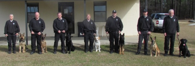 Richmond County Sheriff's Office K-9 Unit