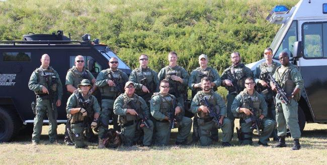 Richmond County Sheriff's Office SWAT Team